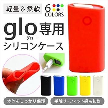 Amazon.co.jp: [ ブラック ] glo グロー ケース シリコン