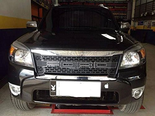 raptor front grill grille awesome black lit ford ranger t5. Black Bedroom Furniture Sets. Home Design Ideas
