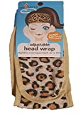 Facial Yoga Classes - Women Facial Headband Velcro Adjustable Microfiber Hair Wrap Holder for Bath Shower Cosmetic Make Up and Face Wash (Animal Print)