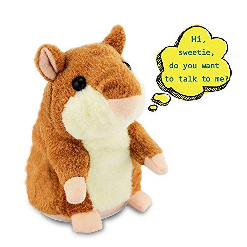 Valentine S Day Talking Toys : Talking hamster tworiver plush kids