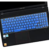 """CaseBuy Ultra Thin Keyboard Protector Skin for 15.6"""" ASUS ROG Strix ZX53VW GL553 GL553VD GL553VE, 17.3"""" ASUS ROG Strix GL753 GL753VD GL753VE Gaming Laptop(2017 Model),Royle Blue"""