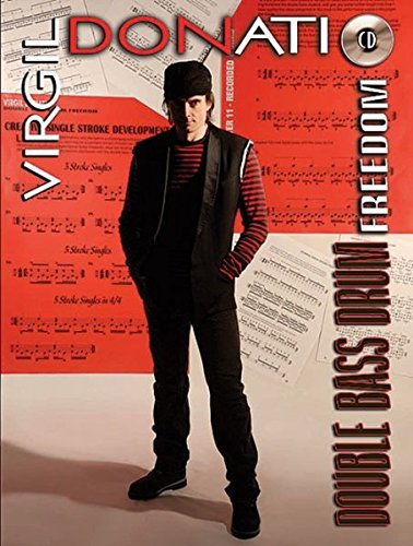 Virgil Donati -- Double Bass Drum Freedom: Book & CD