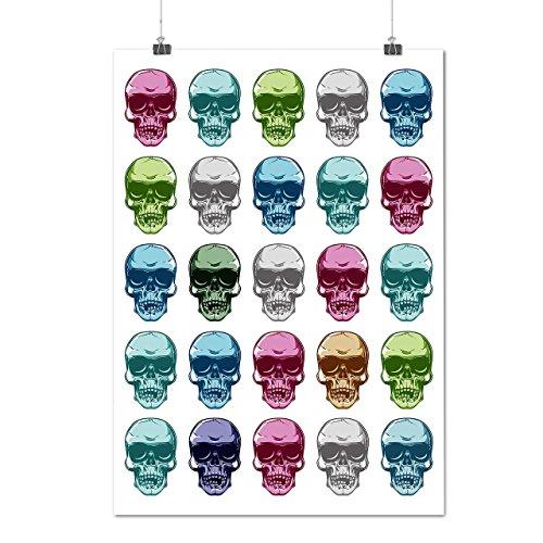 [Skeleton Party Fun Disco Time Matte/Glossy Poster A3 (12x17 inches) | Wellcoda] (Skeleton Costume Pose)