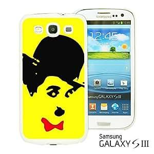 OnlineBestDigitalTM - Celebrity Star Hard Back Case for Samsung Galaxy S3 III I9300 - Cute Chaplin