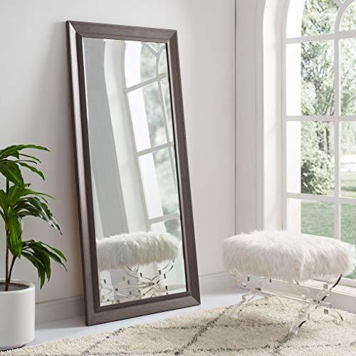 Naomi Home Framed Bevel Mirror Espresso/66 x 32'