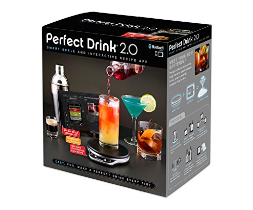 Perfect Drink Bluetooth Scale Of Perfect Drink 2 0 Smart Scale And Interactive Recipe App