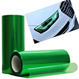 Automotive : 12 by 48 Inches Self Adhesive Headlight, Tail Lights, Fog Lights Tint Vinyl Film (12 X 48, Green)