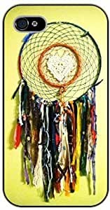 Dreamcatcher, heart and spam - iPhone 4 / 4s black plastic case / Inspiration