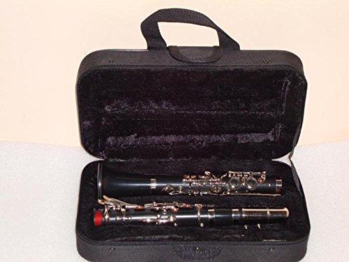 OSWAL Albert System Eb Flat Silver Clarinet 14 Keys+W/Free Hard Case+M/P