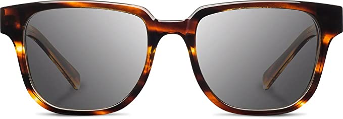 2b4ca34d66d Shwood Men s Prescott Fifty Fifty Polarized Tort Wood  Sunglasses  Multicolored