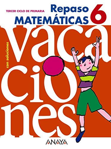 Repaso Matematicas 6 / Math review (Spanish Edition)