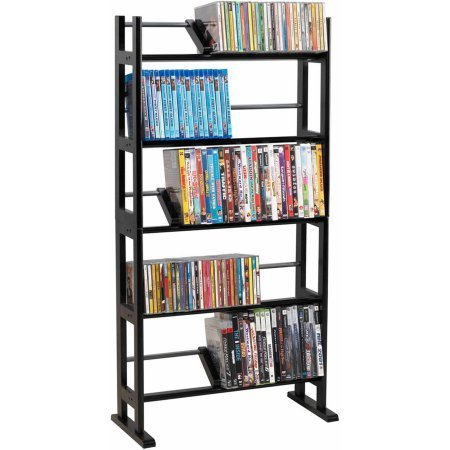 Atlantic Furniture Element Media Rack, Espresso by Atlantic Furniture