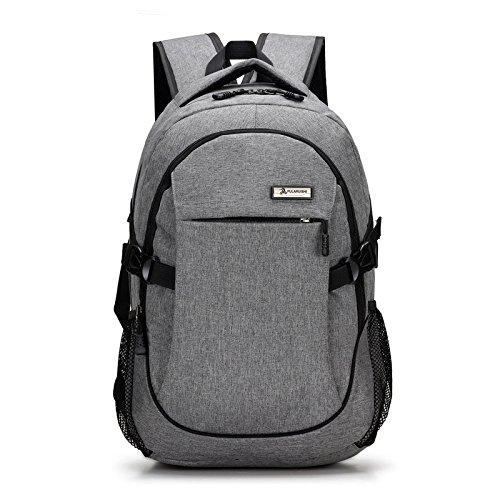ZJFXSNEH LaptoptascheBusiness-TascheIntelligente dual Shoulder Bag fashion casual Outdoor Sport Rucksack Umhängetasche mit zwei Männern und Frauen universal Rucksack 001 YZKKv