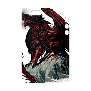 Diy Red Dragon Phone Case For Htc One M9 Cover 3D Shell Phone JFLIFE(TM) [Pattern-4]