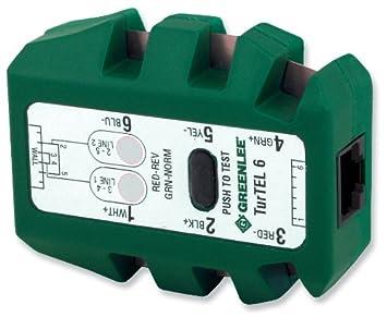 Greenlee 46040 TurTEL 6 Modular Adapter Polarity Tester