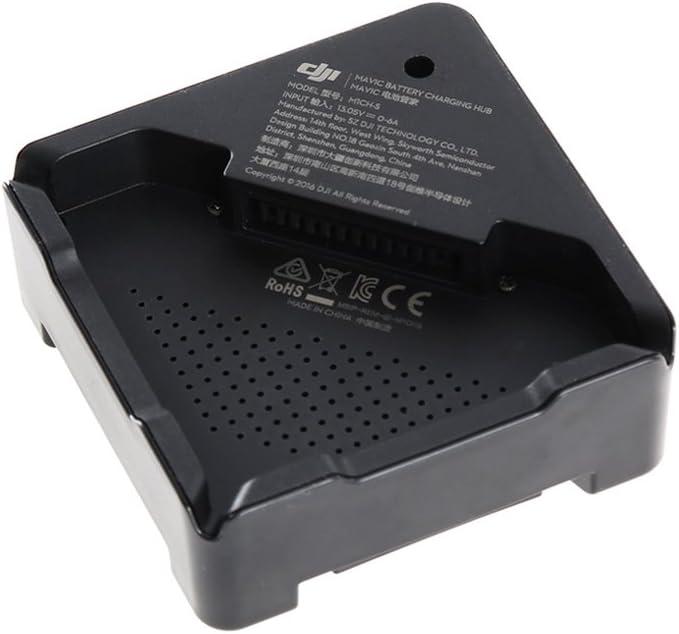 DJI - Estación/Hub de carga rápida, cargador múltiple, compatible y diseñado para usar con la batería de Vuelo Inteligente del Dron DJI Mavic/Pro, compacto y portátil, alta confiabilidad