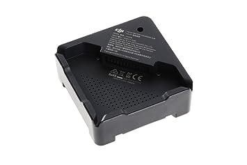 DJI - Estación/Hub de carga rápida, cargador múltiple, compatible y diseñado para usar con la batería de Vuelo Inteligente del Dron DJI Mavic/Pro, ...