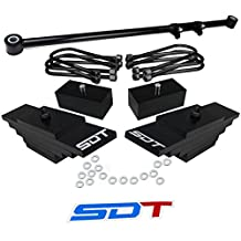 "Ford F-250 F-350 SuperDuty 4WD Full Leveling Lift Kit - 3"" Front 2"" Rear with Adjustable Track Bar"