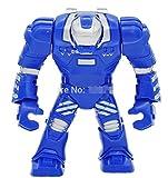 Iron Man MARK 38 IGOR Big Figure 7cm High Minifigures Toys Marvel Super Hero The Avengers Building Blocks Model