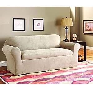 Amazon.com - Sure Fit Lexington T-Cushion Sofa Slipcover ...  |Amazon Sure Fit Slipcovers