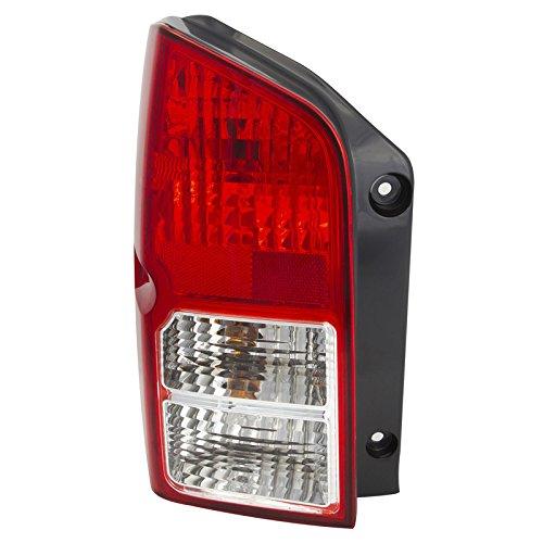CarPartsDepot Fit 05-12 Nissan Pathfinder Rear Tail Brake Light Lamp Driver Side - Tail Lamp Pathfinder Nissan