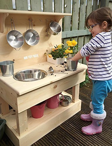Superbe Wooden Mud Kitchen, Outdoor Kitchen, Play Kitchen, Toy Kitchen, Garden  Kitchen,