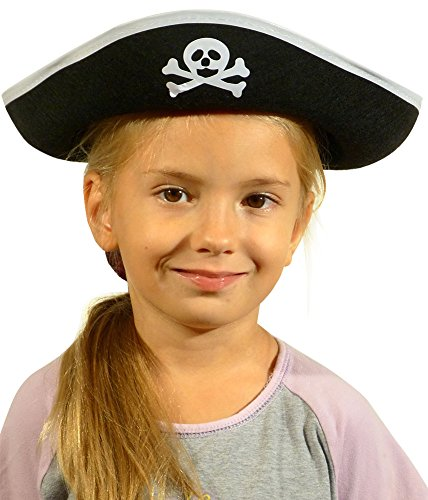 [Pirate Hats - Pirate Costume for Kids - Pirate Accessories by Funny Party Hats] (Child Swashbuckler Pirate Costumes)