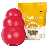 KONG Classic Dog Toy, Small, Red