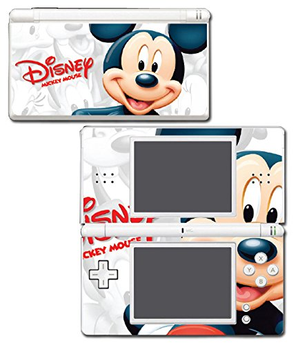 Mickey Mouse Carton Epic Kingdom Hearts 3D Video Game Vinyl Decal Skin Sticker Cover for Nintendo DS Lite System