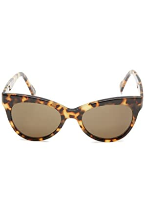 57e79676d870 Amazon.com  Norma Kamali - Square Cat Eye Sunglasses - Tortoise - OS ...