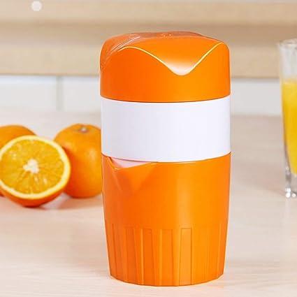 Exprimidor manual de plástico Exprimidor de frutas Exprimidor de naranjas Exprimidor exprimidor manual Prensa pequeña máquina