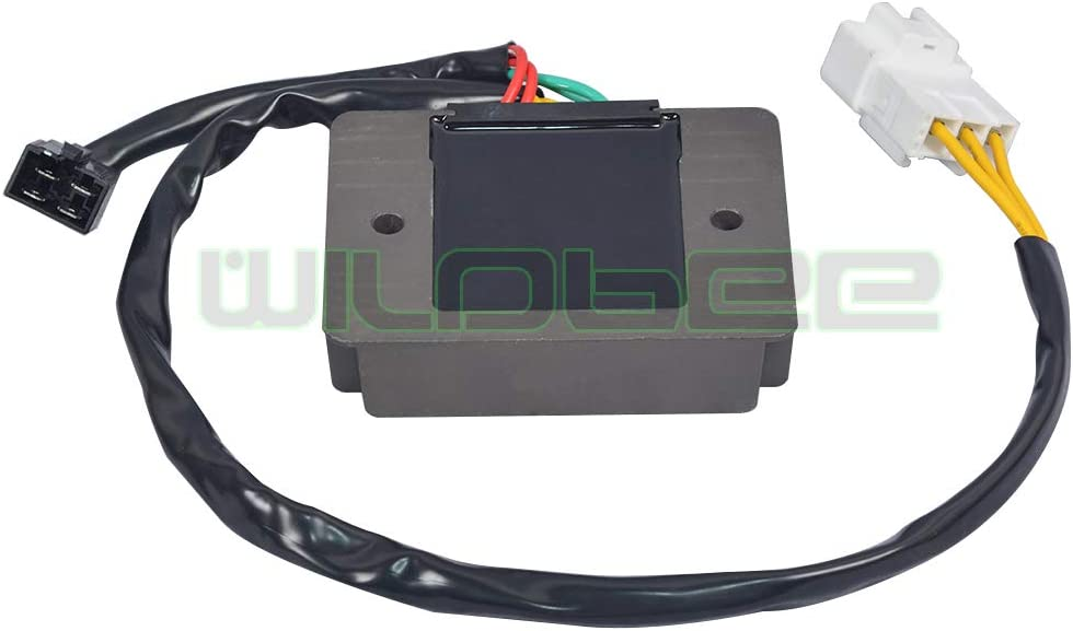 WildBee Redresseur R/égulateur de Tension Compatible pour RSV 1100 Tuono V4 RR 2015-2017 Tuono V4 1000 2012-2015