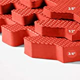 We Sell Mats 3/8 Inch Thick Multipurpose Exercise