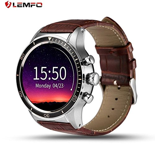 LEMFO Y3 The King - Android 5.1 Smart Watch with SIM Slot Waterproof Bluetooth GPS