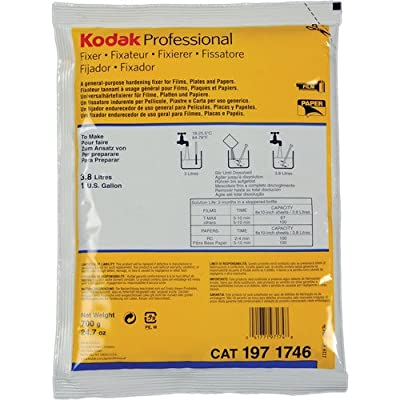 Fixer for paper and film, 1Gallon mix from Kodak