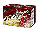 4-box pack of BaconPOP microwave popcorn (4 boxes, 12 total bags)