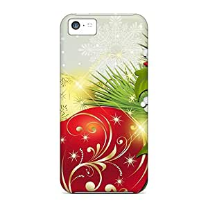 New Diy Design Flowers For Feliz Navidad For Iphone 5c Cases Comfortable For Lovers And Friends For Christmas Gifts