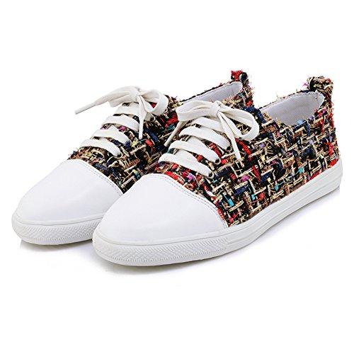 Da Donna Scarpe Sneaker Comode Rosse Taoffen 60OqUw