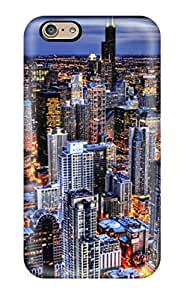 Protective Tpu Case With Fashion Design For Iphone 6 (city S)