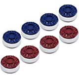 "GSE Games & Sports Expert 2-1/8""(53mm) or 2-5/16""(58mm) Premium Shuffleboard Pucks - Set of 8"