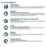 OdoBan Multipurpose Cleaner Concentrate, 4 Gallons, Lavender Scent - Odor Eliminator, Disinfectant, Flood Fire Water Damage Restoration