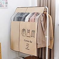 Bclaer72 Housse de Protection Anti-poussière pour vêtements, Garde-Robe, penderie, étagère de Rangement Transparente Non tissée
