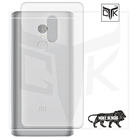 TheGiftKart Transparent backcover for Xiaomi Redmi Note 4 Cases   Covers