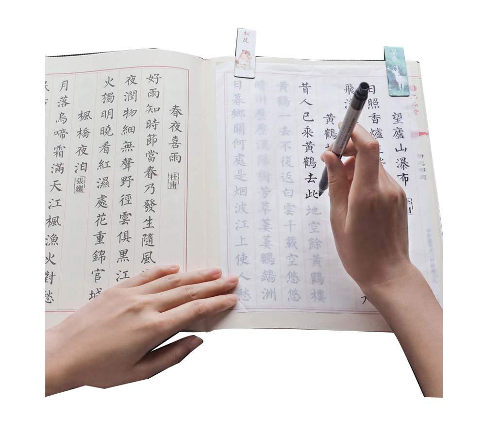 コピーブック2冊セット、ロワーケース中国伝統キャラクター。 B07GLPZQDV