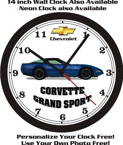 1996 CHEVROLET GRAND SPORT WALL CLOCK-FREE USA SHIP!