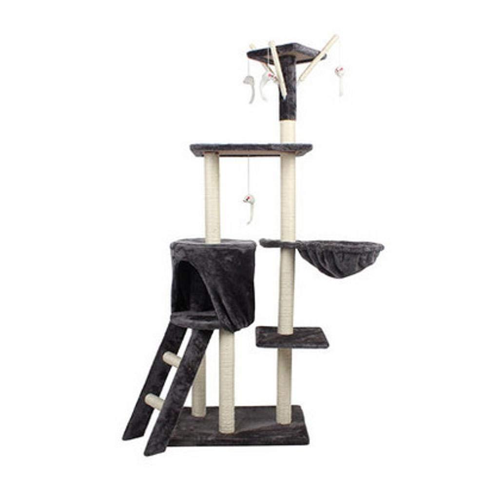 CQSMOO, tiragraffi per Gatti a Cinque Piani, Gigante in sisal, per Gatti e Gatti, 138 x 50 x 35 cm