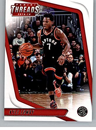 329978a48c1 2018-19 Threads Basketball #74 Kyle Lowry Toronto Raptors Official Retail  Only Trading Card