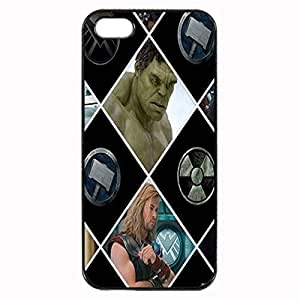 The Avengers Custom Image Case iphone 4 case , iphone 4S case, Diy Durable Hard Case Cover for iPhone 4 4S , High Quality Plastic Case By Argelis-sky, Black Case New