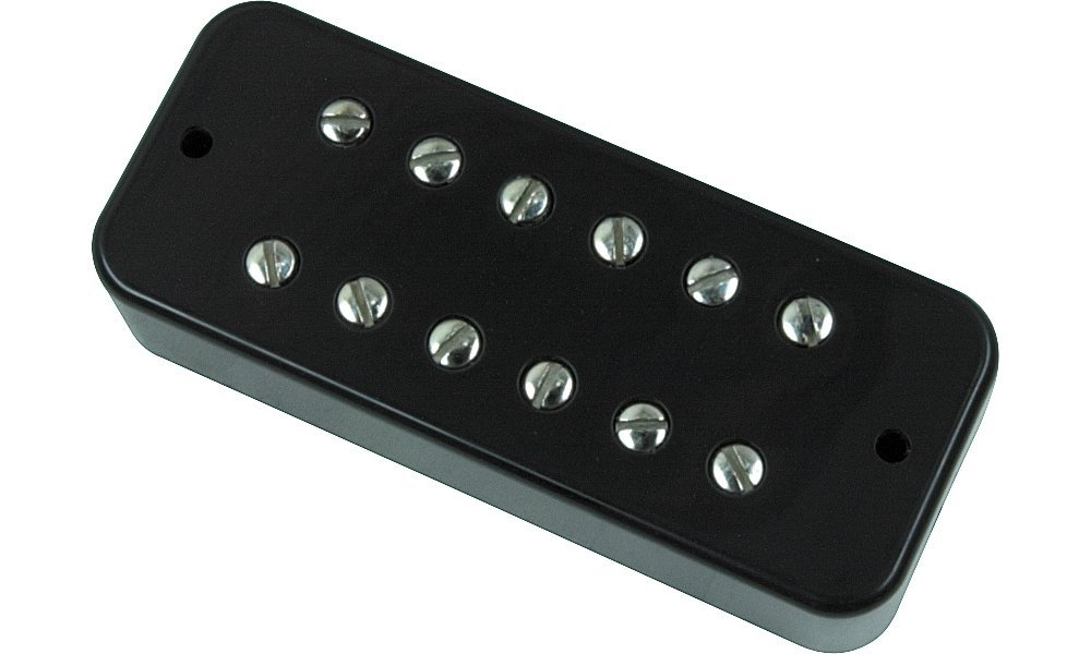 DiMarzio DP162 Deluxe Plus Soapbar Pickup, Black Neck