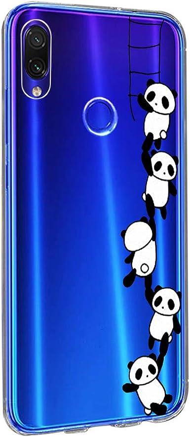 Xiaomi Redmi Note 7 Pro Funda,Redmi Note 7 Carcasa Silicona Transparente Protector TPU Ultra-Delgado Anti-arañazos Cristal Case para Teléfono Redmi Note 7 Caso Caja 6.3